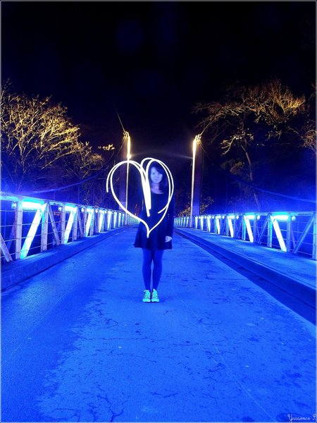 Nightheart, sweetheart on the Blue Bridge (The Nightfly)