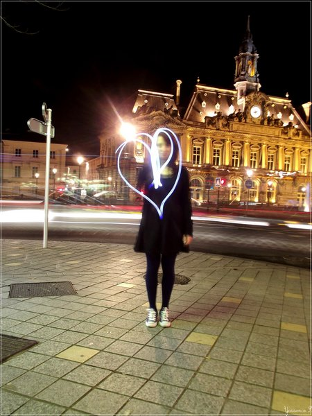 Urban Nightheart, love like freezing the time !