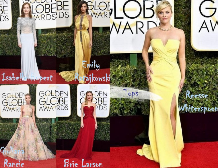 Les Golden Globes 2017