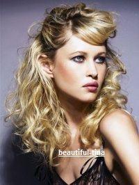 • Si tu as les cheveux bouclés et que tu veux des boucles bien rondes :