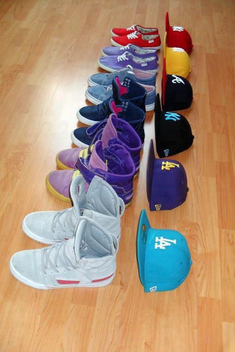 les chaussure et te basket prefere??