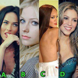 a b c ou d?