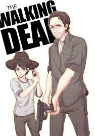 The Walking Dead anime's version