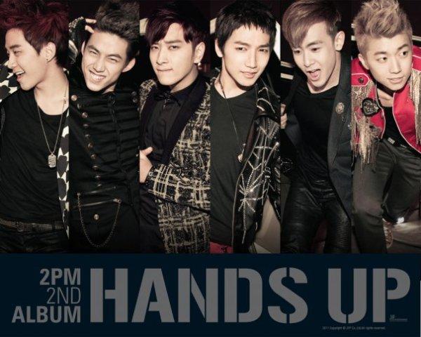 "2PM 2nd ALBUM ""HANDS UP"""