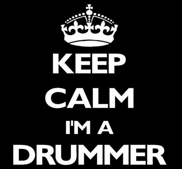 I'm a drummer !