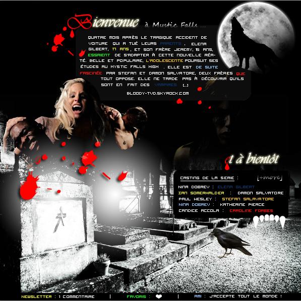 •  Bienvenue sur Bloody-TVD.skyrock.com