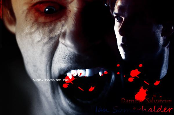 •  Damon Salvatore sur Bloody-TVD.skyrock.com