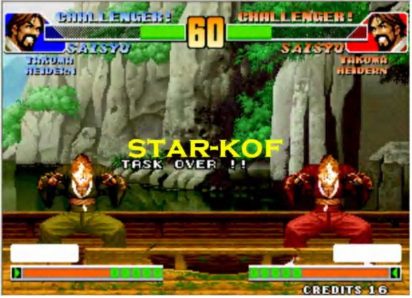 kof 98 SAISYU vs SAISYU TASK OVER by star-kof