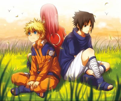 L'équipe de NARUTO,SACURA et SASUKE