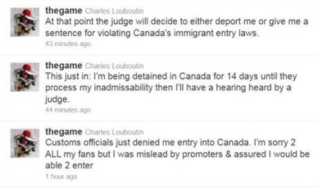 Game est-il en prison au Canada ?