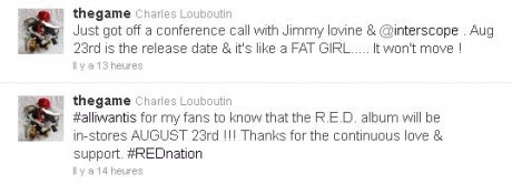 Game confirme The Red album pour le 23 août