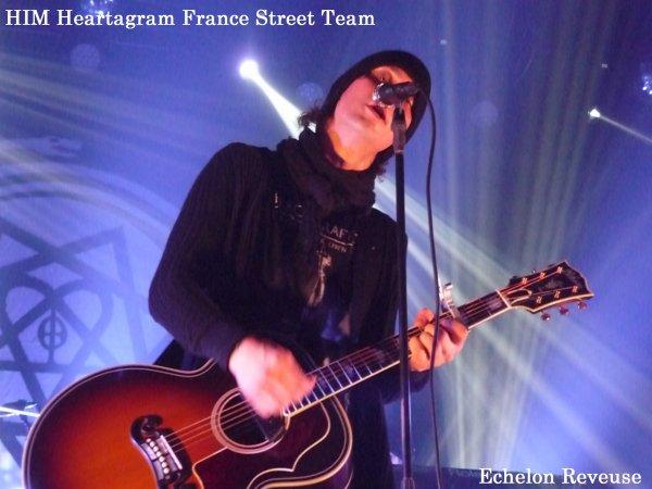 Concert de HIM au Bataclan de Paris le 19/10/2013