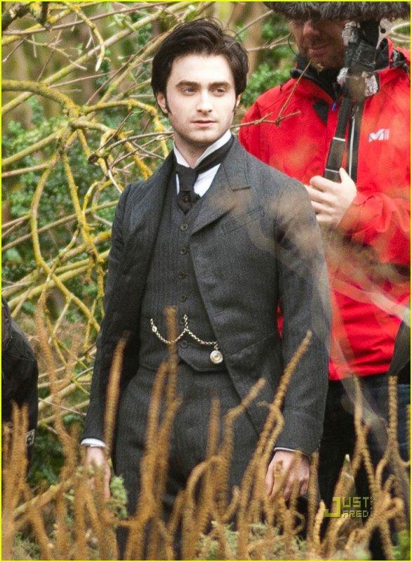 Premières photos de Dan dans The Woman in Black
