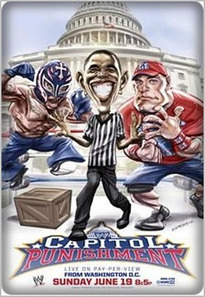 Poster Wwe Capitol Punishment Du 19/06/2011
