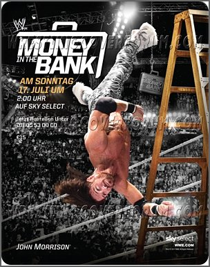 Poster Wwe Money in the Bank Du 17/07/2011