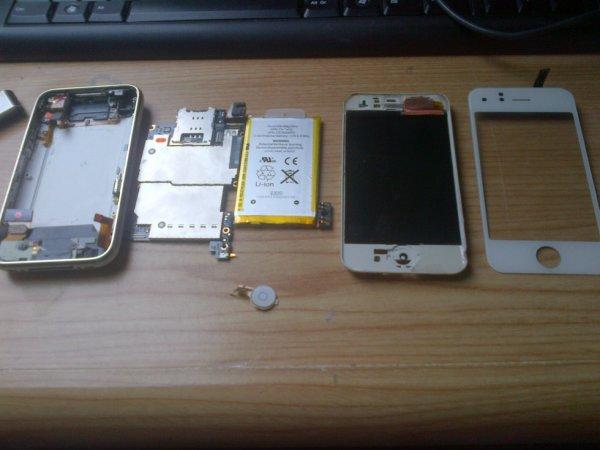 i-phone démonté