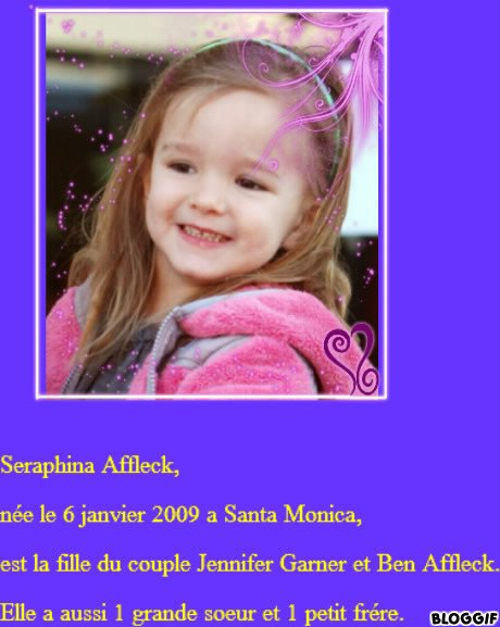 Seraphina Affleck