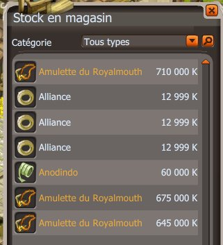 Amulettes RoyalMouth