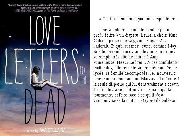 Love letters to the dead ☾ Ava Dellaira