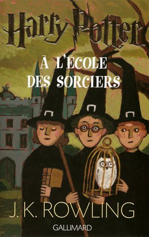 HARRY POTTER, tome 1 : Harry Potter à l'école des sorciers || J.K. ROWLING