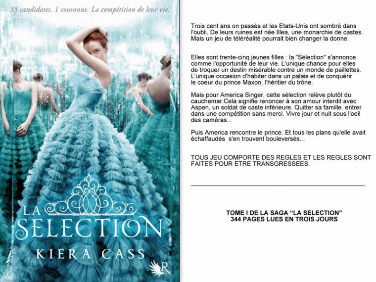 La sélection, tome I : La sélection || Kiera CASS