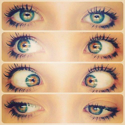 oulouche les zolies petits /grands yeux !!