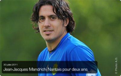 Jean-Jacques Mandrichi signe au FC Nantes