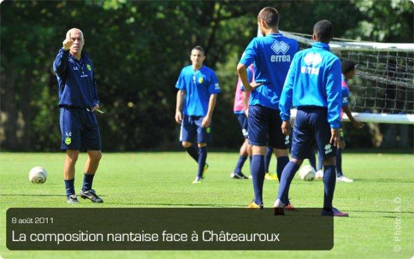 fc nantes 1- 0 chateauroux