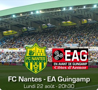 Fc Nantes 4-0 ea Guingamp