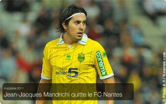 jean Jacques Mandrichi quitte le FCNA