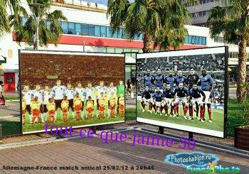 Allemagne 1-2 France