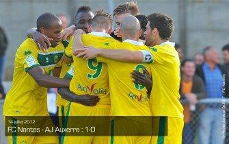 Amical: auxerre 0-1 Nantes