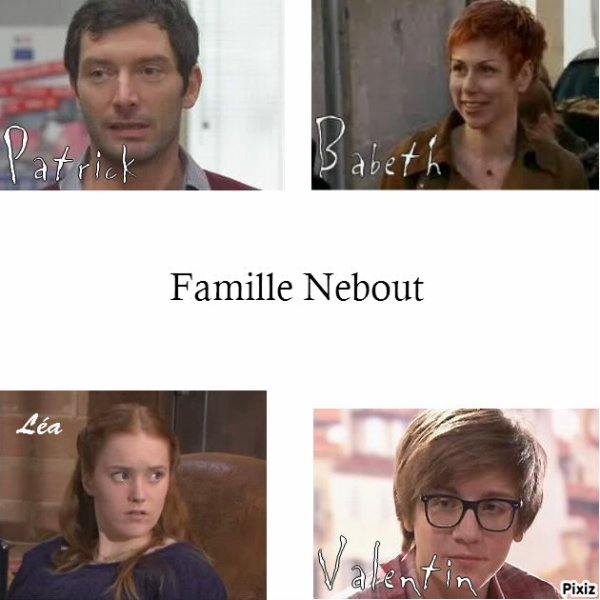 Famille Nebout