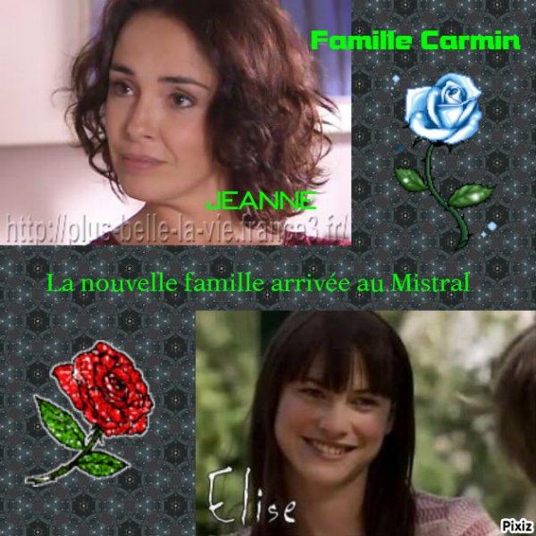 Famille Carmin