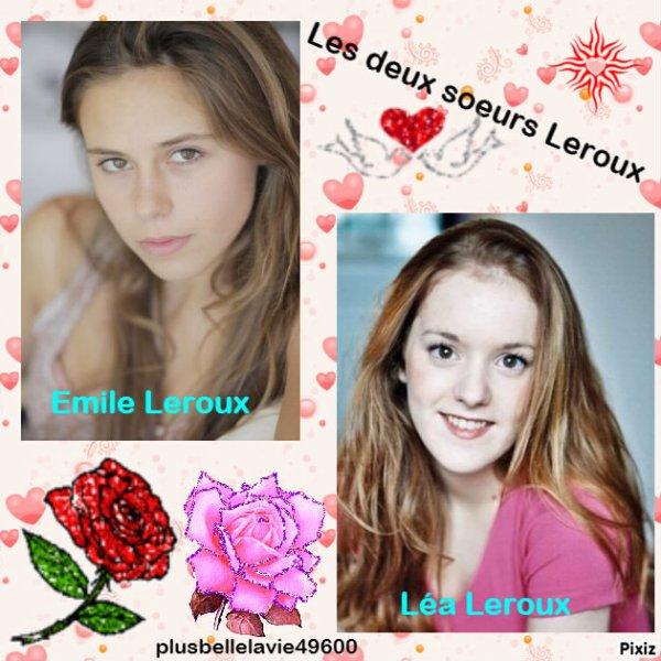 Les deux soeurs Leroux