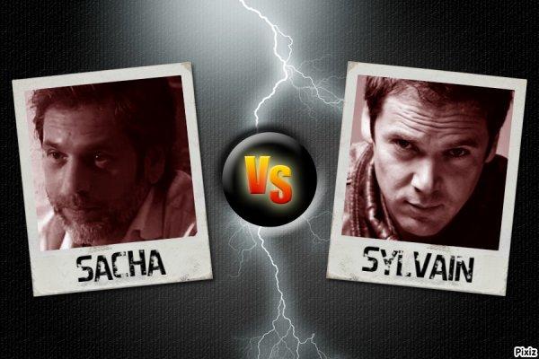 Sacha versus Sylvain