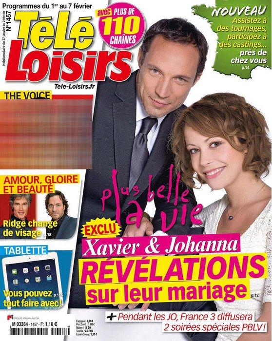 Les infos du mariage de Johanna et Xavier dévoilées dans la presse !