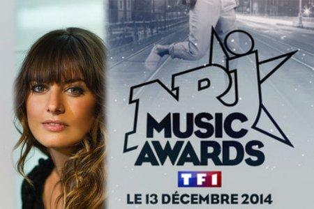Laetitia Milot (Mélanie) de PBLV invitée aux NRJ Music Awards sur TF1