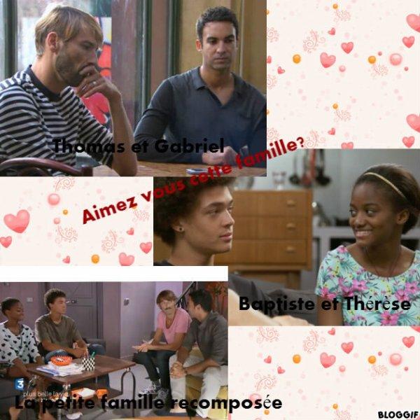 Aimez-vous la famille composée de Thomas, Gabriel, Thérèse et Baptiste ?