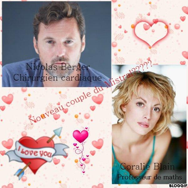 Une histoire d'amour entre Coralie et Nicolas (le chirurgien cardiaque)... Vous êtes plutôt... ?