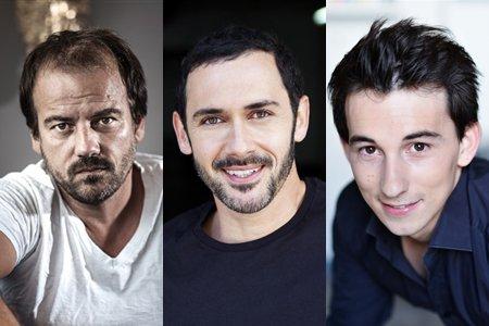 Jean-Paul, Francesco et Julio