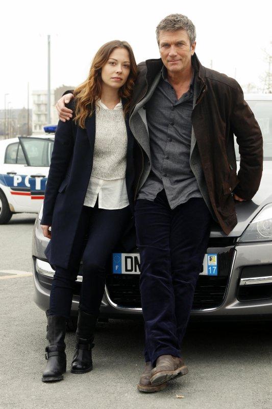 Diffusion de « Meurtres à La Rochelle » avec Dounia Coesens (Johanna)