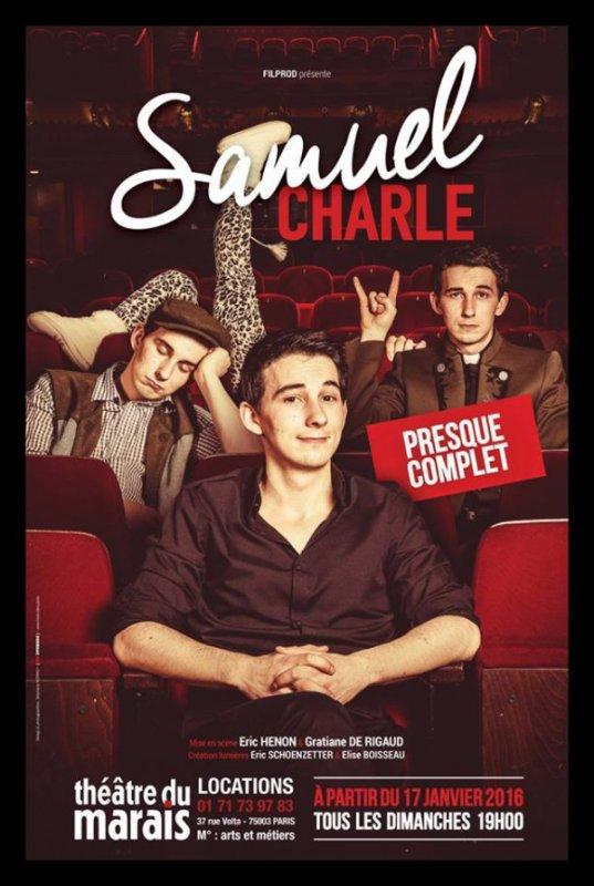 Samuel Charle (Julio) au théâtre !
