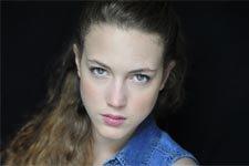 Fadia Dumont (Cristal) en tournage pour Plus belle la vie