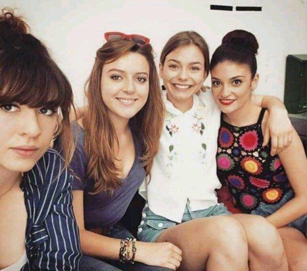 Zoé, Lylou, Océane et Sabrina
