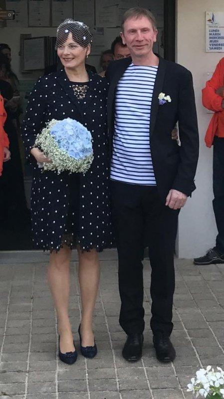 Cécilia Hornus (Blanche) s'est mariée dans la vraie vie !