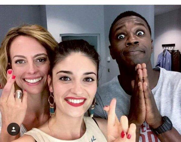 Coralie, Sabrina et Djawad