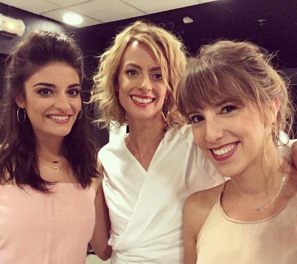 Sabrina, Coralie et Barbara