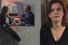 INDISCRÉTION : Caroline croit que Mélanie et Elias ont une liaison !