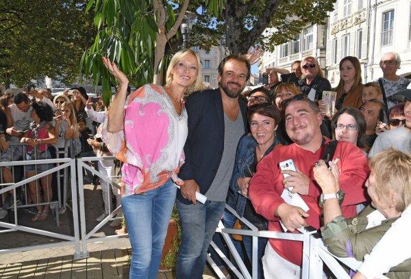 Les acteurs de PBLV au Festival de la Fiction TV de La Rochelle !